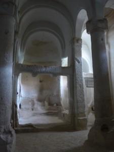 EGLISE TROGLODYTE EN CAPPADOCE