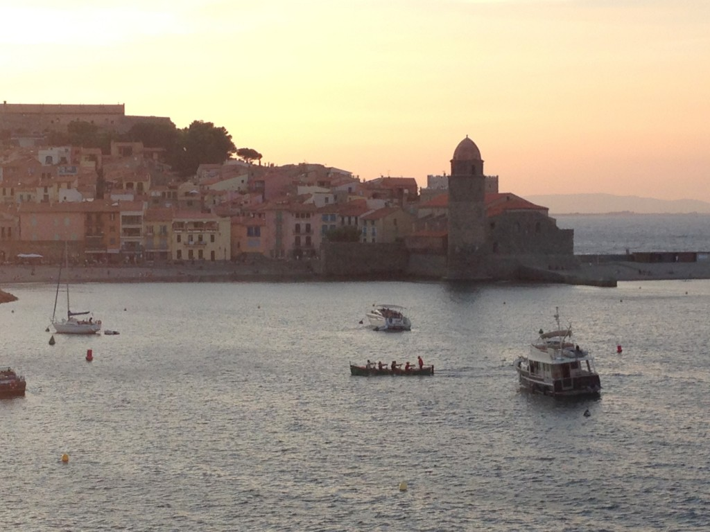 SUNSET A COLLIOURE